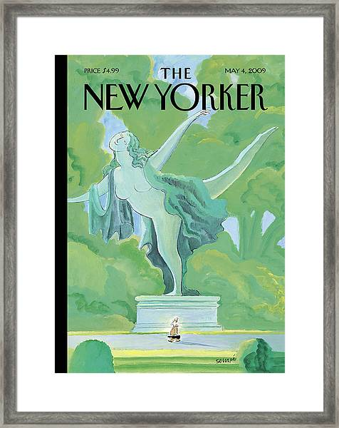 New Yorker May 4th, 2009 Framed Print