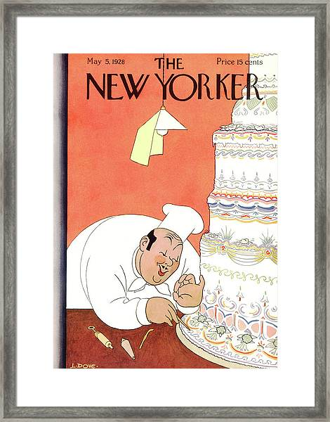 New Yorker May 5th, 1928 Framed Print