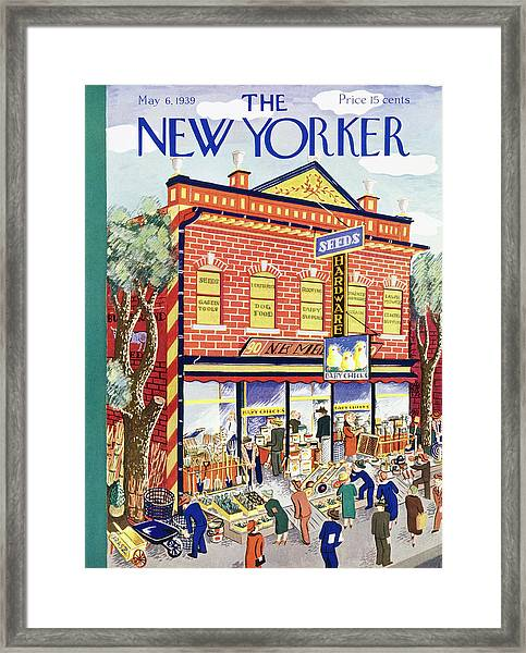 New Yorker May 6 1939 Framed Print
