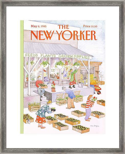 New Yorker May 6th, 1985 Framed Print