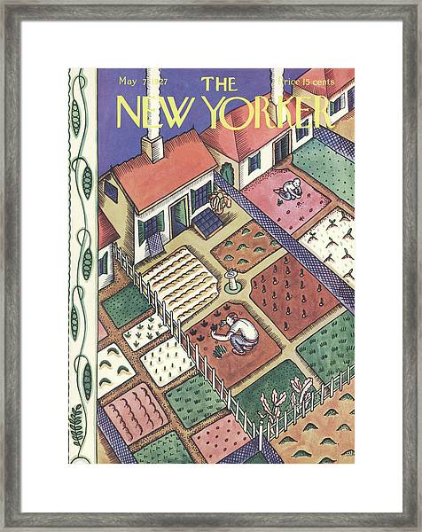 New Yorker May 7th, 1927 Framed Print