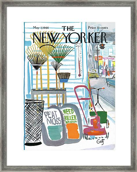 New Yorker May 7th, 1966 Framed Print