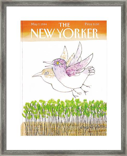 New Yorker May 7th, 1984 Framed Print