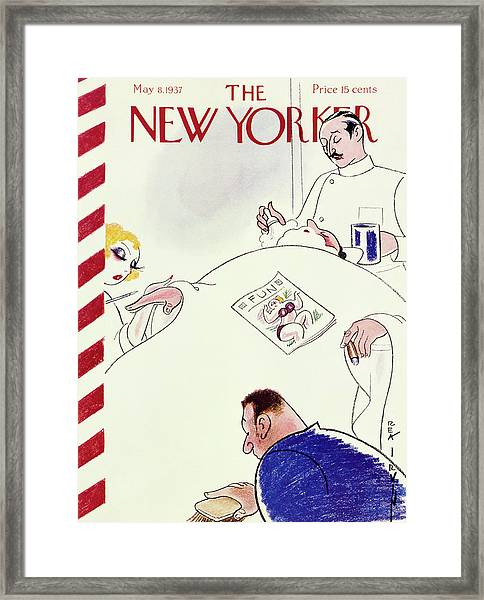 New Yorker May 8 1937 Framed Print
