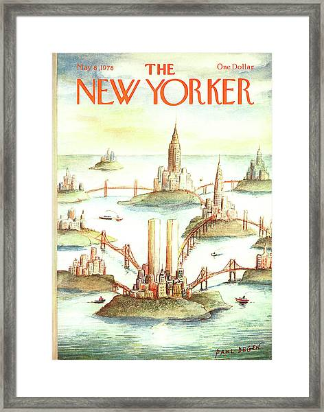 New Yorker May 8th, 1978 Framed Print