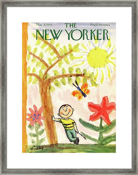 New Yorker May 9th, 1953 Framed Print