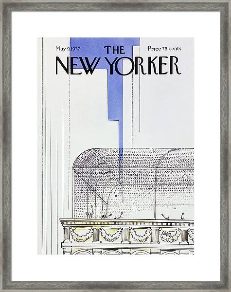 New Yorker May 9th 1977 Framed Print by Arthur Getz