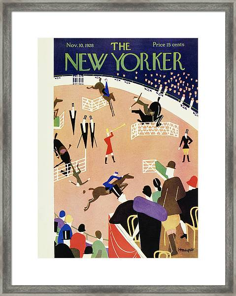New Yorker November 10 1928 Framed Print