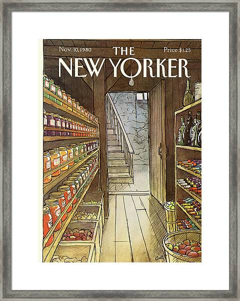 New Yorker November 10th, 1980 Framed Print