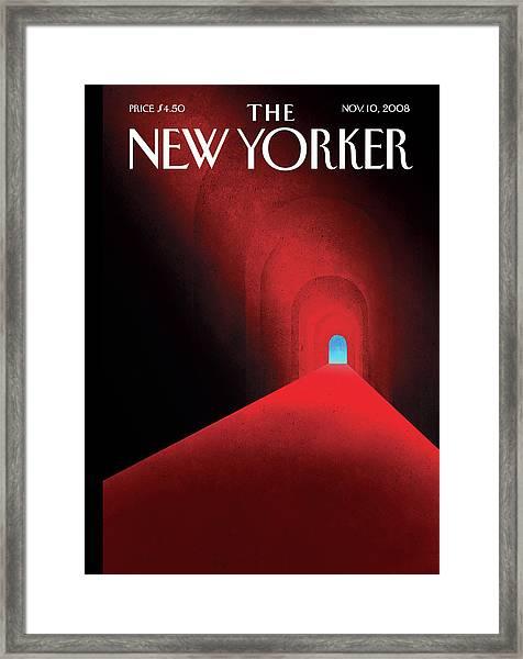 New Yorker November 10th, 2008 Framed Print