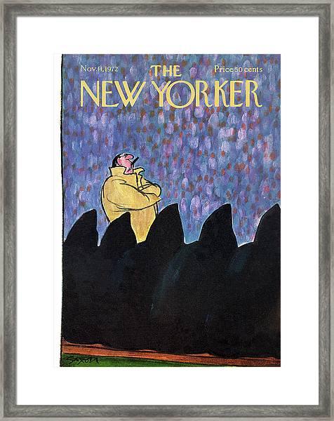 New Yorker November 11th, 1972 Framed Print