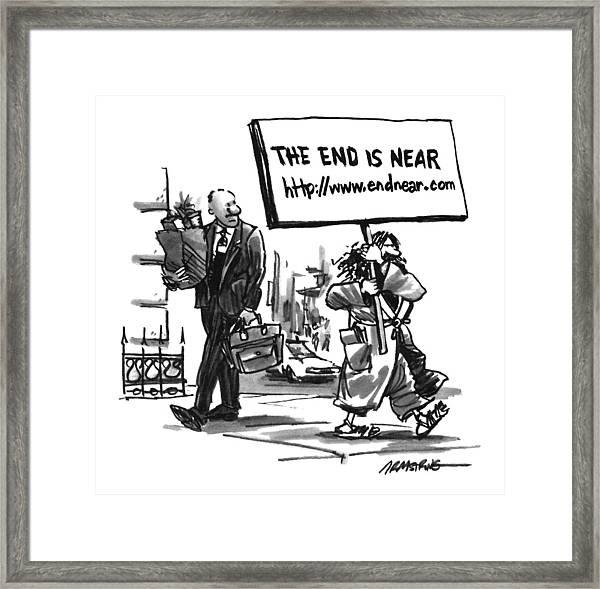New Yorker November 11th, 1996 Framed Print