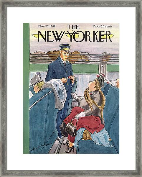 New Yorker November 12th, 1949 Framed Print