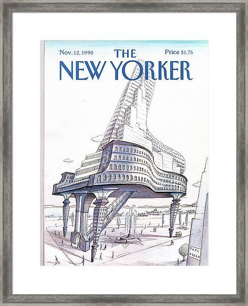 New Yorker November 12th, 1990 Framed Print