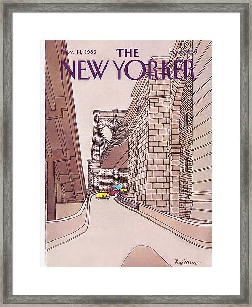 New Yorker November 14th, 1983 Framed Print