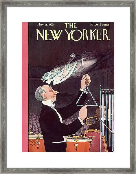 New Yorker November 18th, 1933 Framed Print