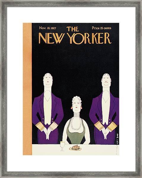 New Yorker November 19th, 1927 Framed Print