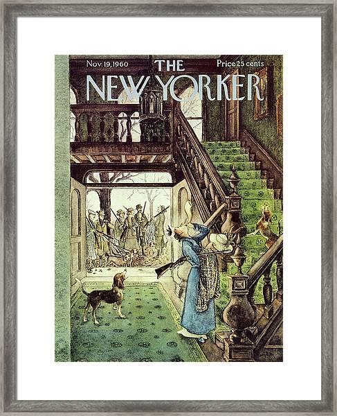 New Yorker November 19th 1960 Framed Print