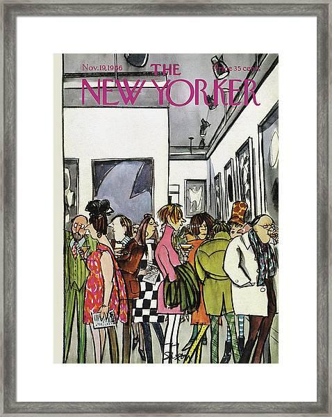 New Yorker November 19th, 1966 Framed Print