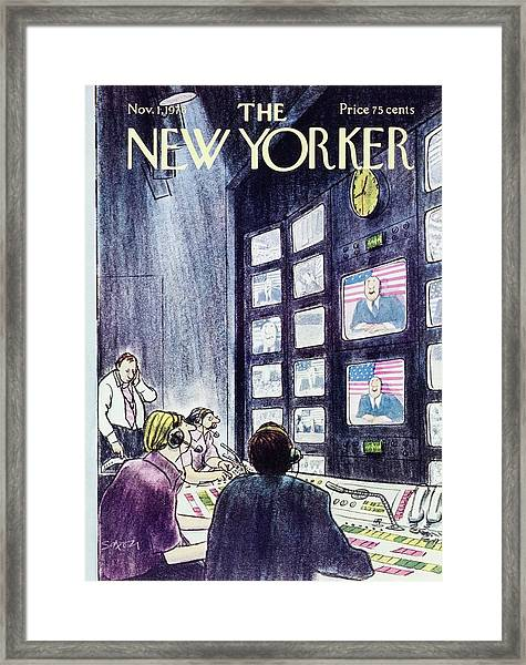 New Yorker November 1st 1976 Framed Print