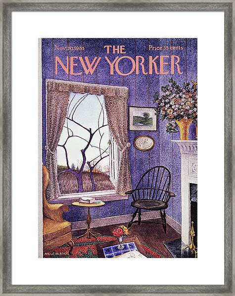 New Yorker November 20th 1965 Framed Print