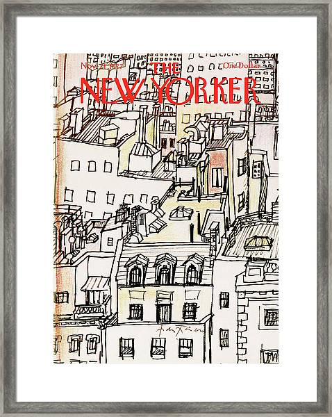 New Yorker November 21st, 1977 Framed Print by Andre Francois