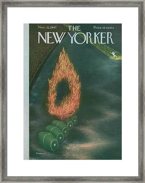 New Yorker November 22nd, 1947 Framed Print