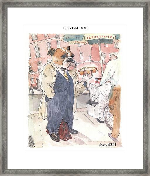 New Yorker November 23rd, 1998 Framed Print
