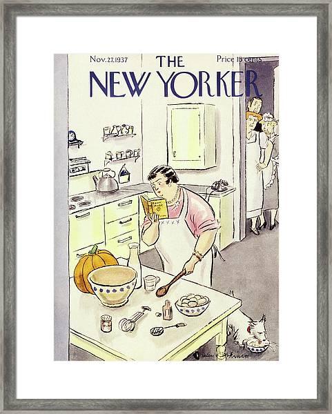 New Yorker November 27 1937 Framed Print