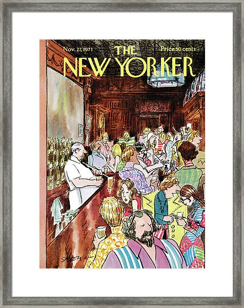 New Yorker November 27th, 1971 Framed Print