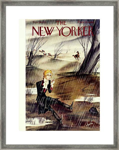 New Yorker November 28 1936 Framed Print