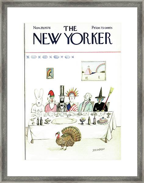 New Yorker November 29th, 1976 Framed Print