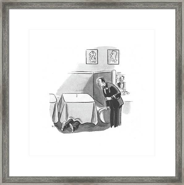 New Yorker November 2nd, 1940 Framed Print