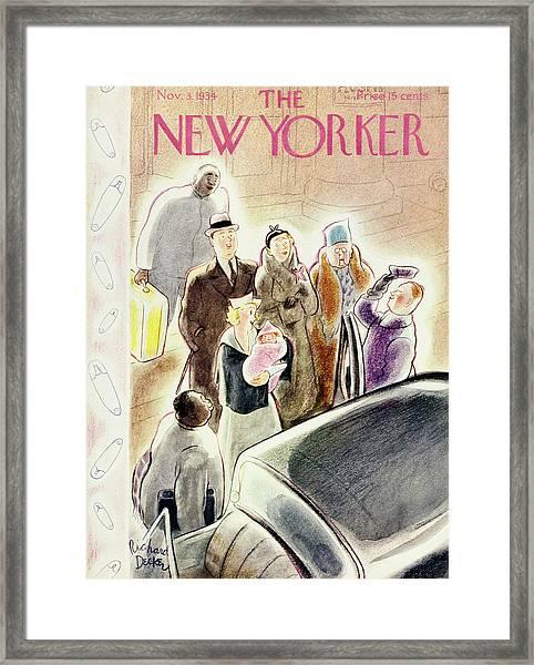 New Yorker November 3 1934 Framed Print