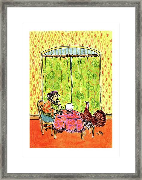New Yorker November 30th, 1992 Framed Print