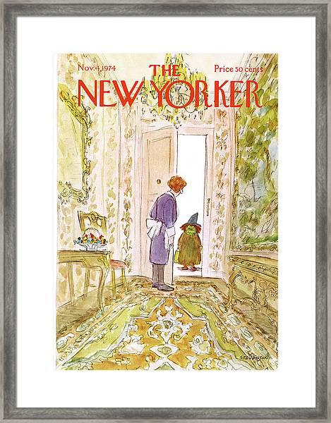 New Yorker November 4th, 1974 Framed Print