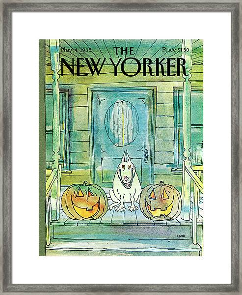 New Yorker November 4th, 1985 Framed Print