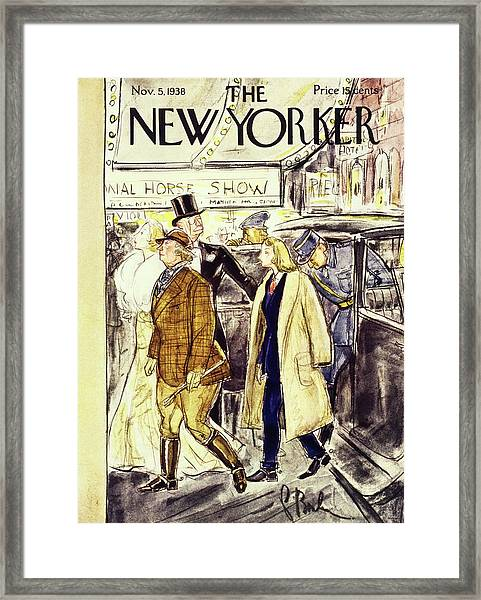 New Yorker November 5 1938 Framed Print