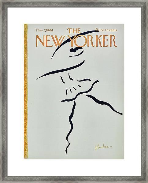New Yorker November 7th 1964 Framed Print