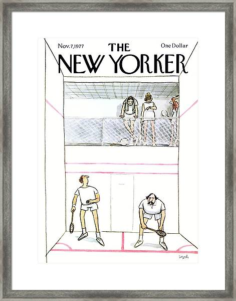 New Yorker November 7th, 1977 Framed Print