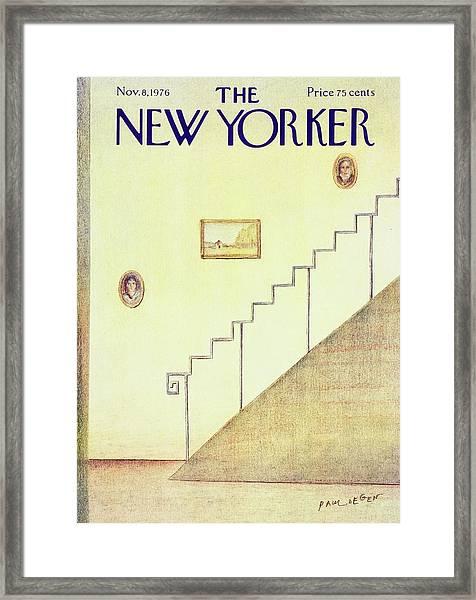 New Yorker November 8th 1976 Framed Print