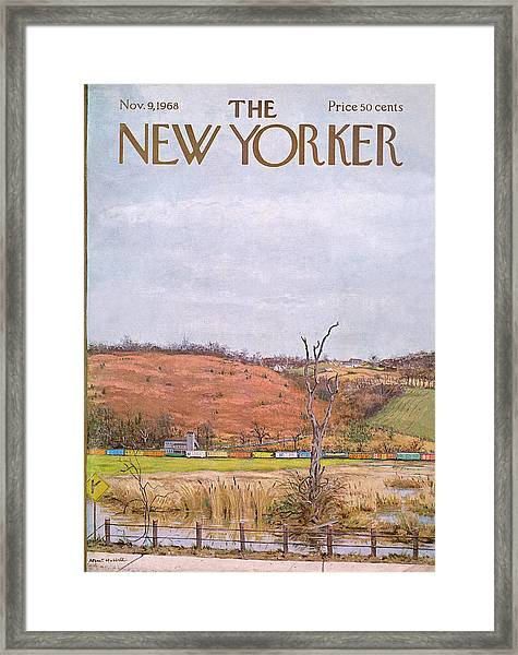 New Yorker November 9th, 1968 Framed Print