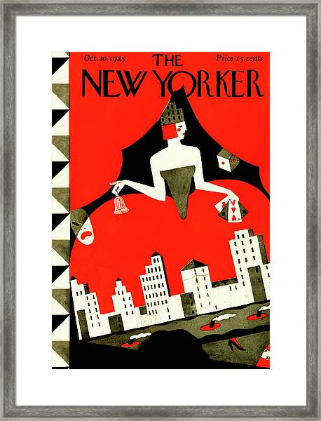 New Yorker October 10th, 1925 Framed Print