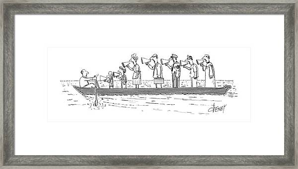 New Yorker October 10th, 1983 Framed Print