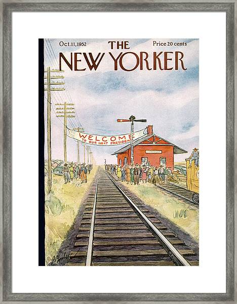 New Yorker October 11th, 1952 Framed Print