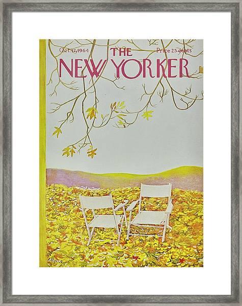 New Yorker October 12th 1964 Framed Print