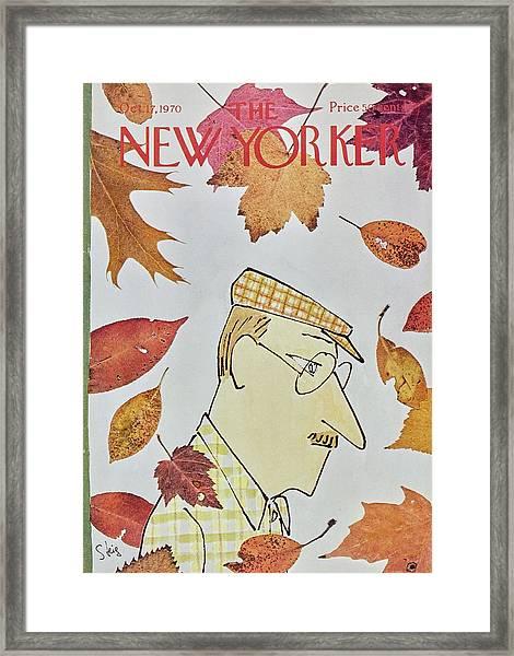 New Yorker October 17th 1970 Framed Print
