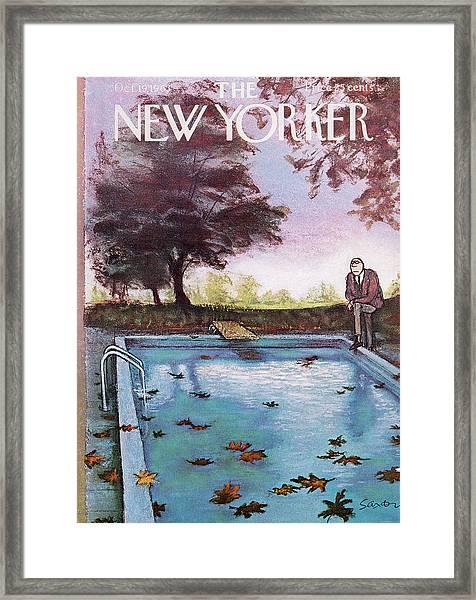 New Yorker October 19th, 1963 Framed Print