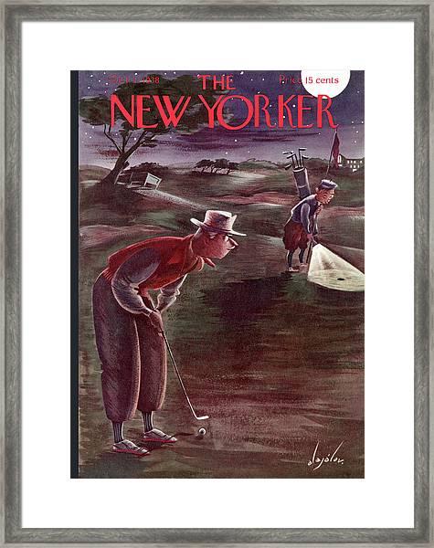 New Yorker October 1st, 1938 Framed Print