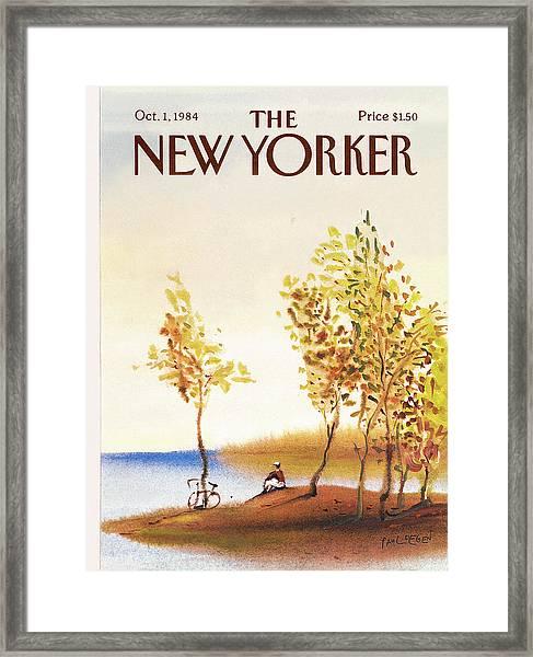 New Yorker October 1st, 1984 Framed Print
